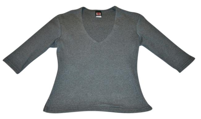 Preload https://item4.tradesy.com/images/grey-ent-blouse-size-8-m-2079143-0-0.jpg?width=400&height=650