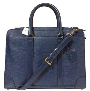 Coach midnight navy Messenger Bag