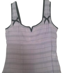 Nanette Lepore Top lavender with black trim