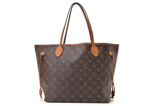 Louis Vuitton Neverfull Monogram Mm Gm Pm Tote in Brown