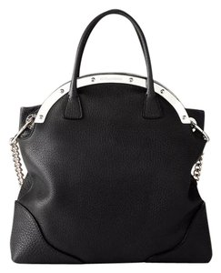 Dolce&Gabbana Satchel in Black and silver hardware