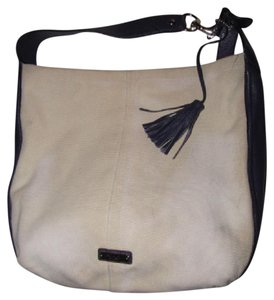 Coach Great Everyday Excellent Condition Color Block Style 'avery' Line Xl Size Multiple Pockets Hobo Bag