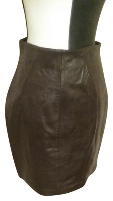 Item - Chocolate Brown Skirt Size 12 (L, 32, 33)