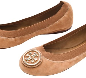 Tory Burch suede tan Flats