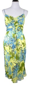 Moschino short dress Yellow, Blue on Tradesy