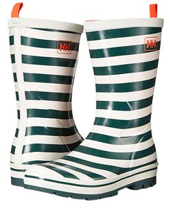 Helly Hansen Rubber Rain Strip Striped Blue White Boots