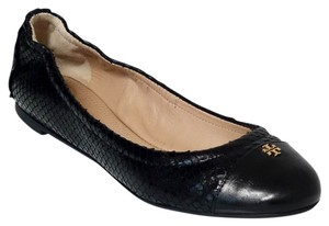 Tory Burch York Black Flats