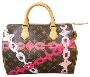 Louis Vuitton Lv Speedy 30 Mng Bay.rose Tote