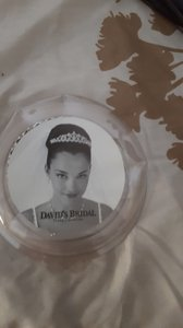 David's Bridal Silver Hair Piece Tiara