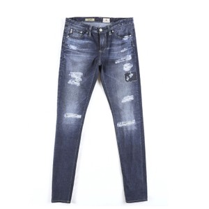 AG Adriano Goldschmied Distrssed Skinny Jeans-Distressed