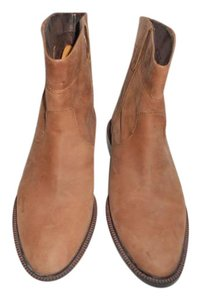 Eddie Bauer Leather Light Brown Boots