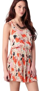 Parker short dress multicolor on Tradesy