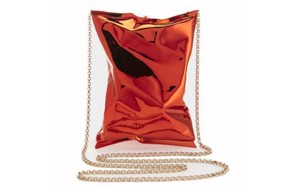 Anya Hindmarch Crisp Packet Gucci Chanel Red Clutch