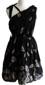 Leifsdottir Anthropologie Feliciana Feathers Dress