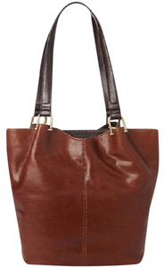 Tignanello Tote in BROWN/ BLACK