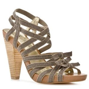Seychelles Silver, Gray, Tan, Brown Platforms