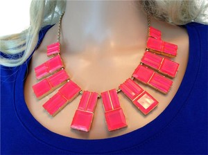 Kate Spade Bright Pink necklace