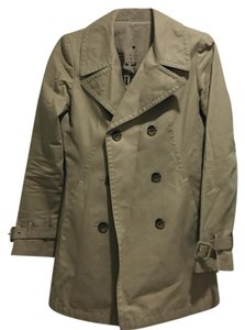 Juicy Couture Rain Juicy Trench Fitted Trench Coat
