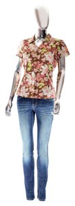 Tommy Bahama Hawaiian Floral Small Top Multi-Colored