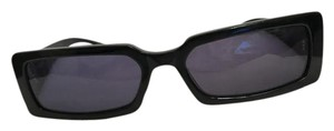 Chanel Authentic Vintage Black Quilted Pattern Chanel Sunglasses