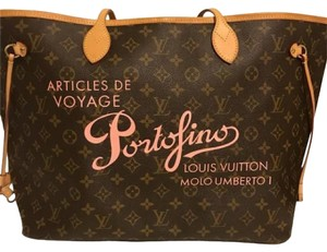 Louis Vuitton Tote in brown,pink