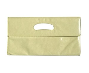 Hobo International Hobo Katrina Leather LIGHT GREEN Clutch