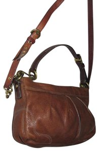 Coach Great Everyday Excellent Condition 'hamptons' Line Style Two-way Style Hobo Bag