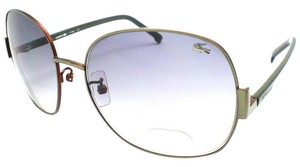 Lacoste Lacoste Women's Sunglasses L110S Grey Lens Green Temple Sunglasses