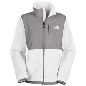 The North Face White Grey Coat Jacket