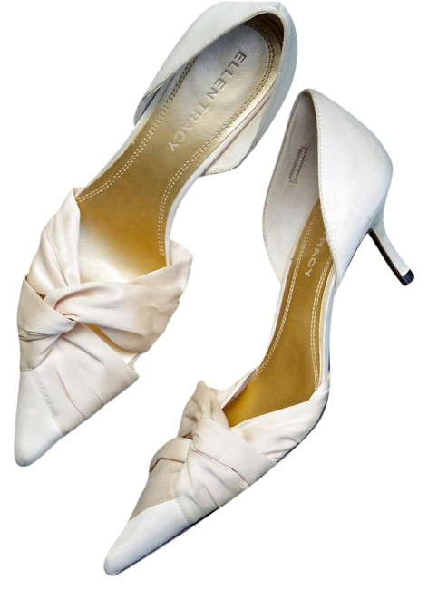 Item - Blush (Faintest Whisper Of Pink with A Neutral Cream/Taupe Undertone) Satin Heels Formal Size US 8 Regular (M, B)