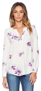Joie Deon B Floral Floral Floral Top White