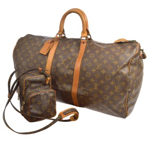 Louis Vuitton Lv Keepall 55 Lv Mini Amazon Brown Travel Bag