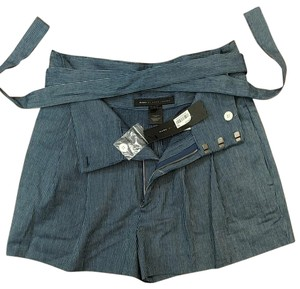 Marc by Marc Jacobs Mini/Short Shorts Blue with tiny white pinstripes