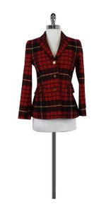 Brooks Brothers Red Plaid Coat