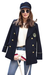 Zara Military Wool Jacket Coat