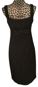 Nanette Lepore Sleeveless Embossed Bow Dress