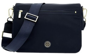 Tory Burch Crossbody Nylon Navy Messenger Bag