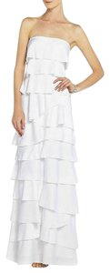 BCBGMAXAZRIA Gown Maxi Tiered Wedding Gown Dress