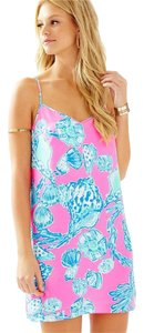 Lilly Pulitzer short dress Pink Pout Barefoot Princess on Tradesy
