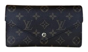 Louis Vuitton Brand New Monogram Jeanne Rose Ballerine Leather Wallet Clutch