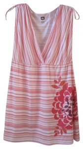 REI short dress pink orange Tunic Active Wear Floral on Tradesy