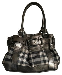 Burberry Satchel in Pewter