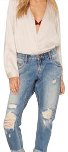 One Teaspoon Boyfriend Cut Jeans-Distressed