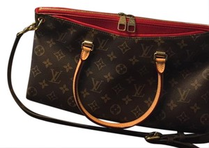 Authentic Icon Satchel in Red