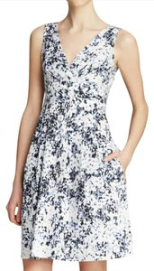 Nanette Lepore short dress Floral Print V-neck on Tradesy