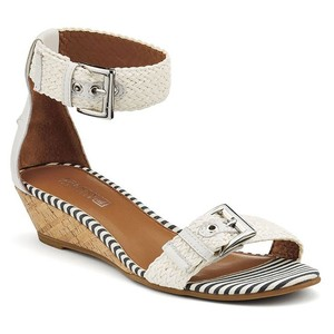 Sperry White Wedges