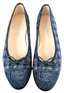 df459c2ba5ac Women s Blue Chanel Shoes - Up to 90% off at Tradesy