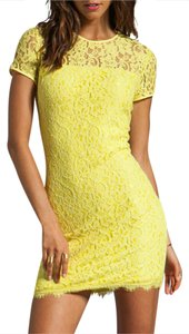 Diane von Furstenberg Lace Shift Sheath Dress