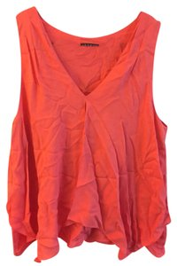 Theory Blouse A Line Top Orange