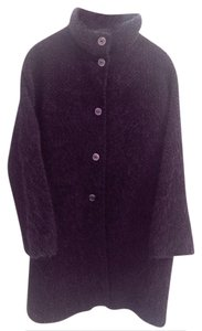 Bill Blass Alpaca / Merino Wool Vintage 80's Pea Coat